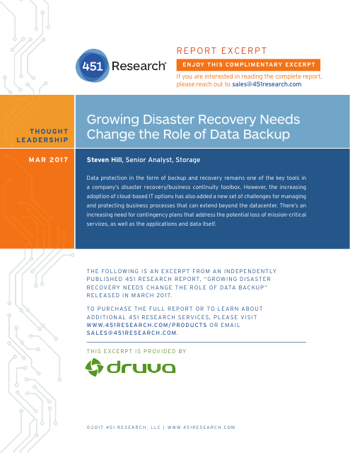 image from Growing Disaster Recovery Needs Change the Role of Data Backup