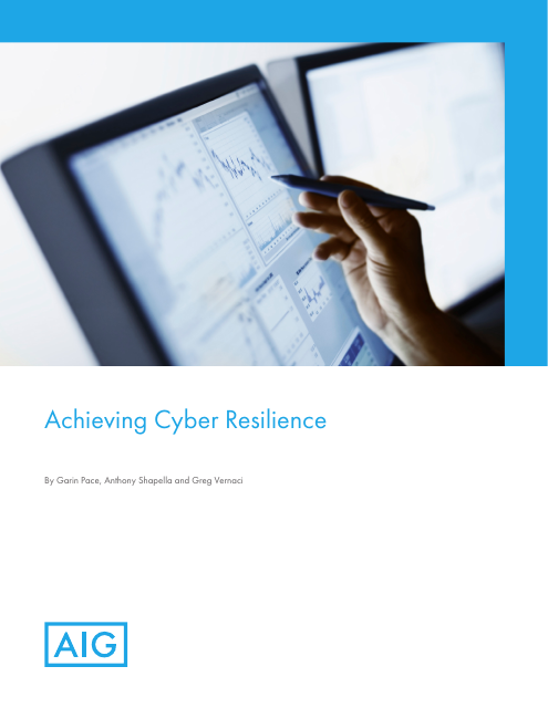 image from Achieving Cyber Resilience