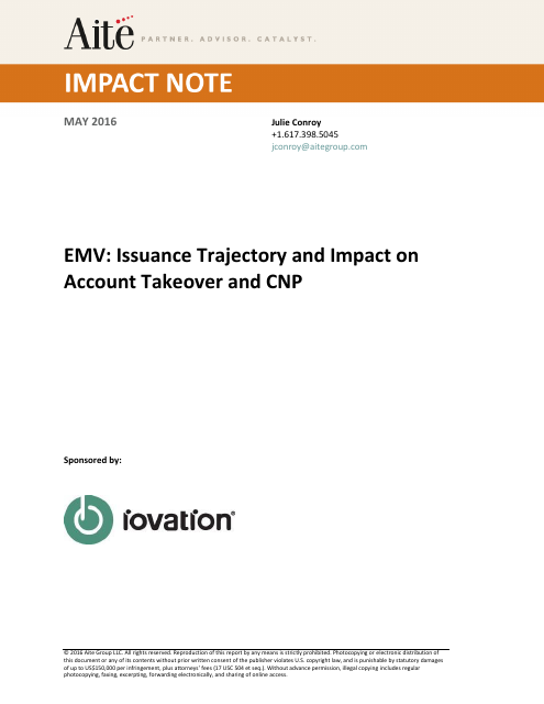 image from EMV Issuance Trajectory And Impact On Account Takeover And CNP