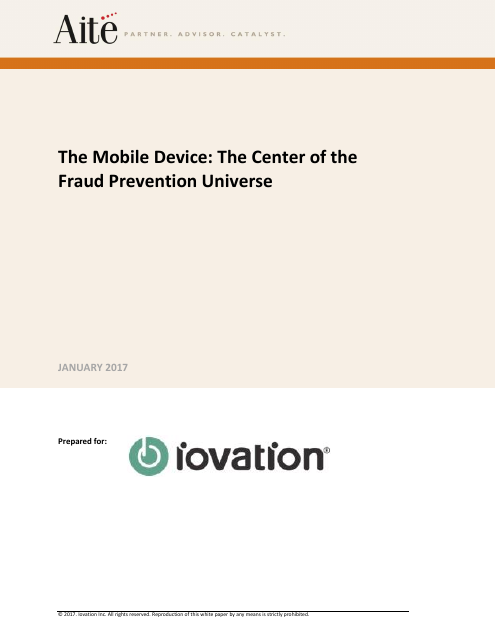 image from The Mobile Device: The Center Of The Fraud Prevention Universe
