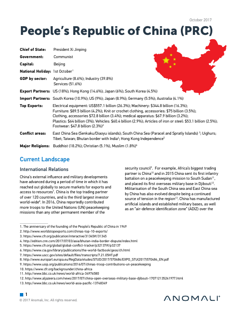 image from China Country Profile 2017