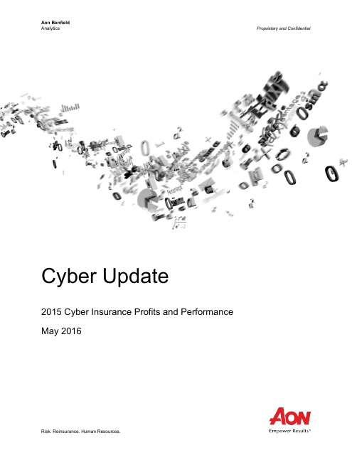 image from Cyber Update: 2015 Cyber Insurance Profits and Performance
