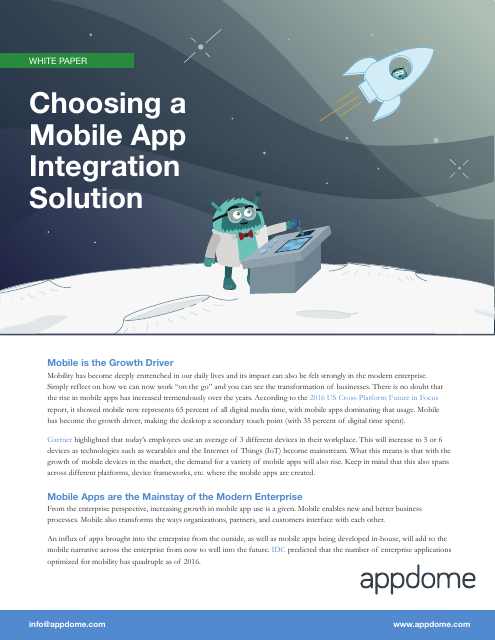 image from Choosing A Mobile App Integration Solution
