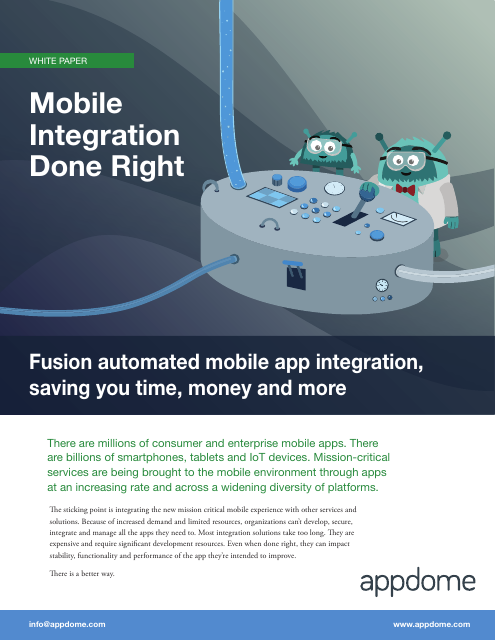 image from Mobile Integration Done Right
