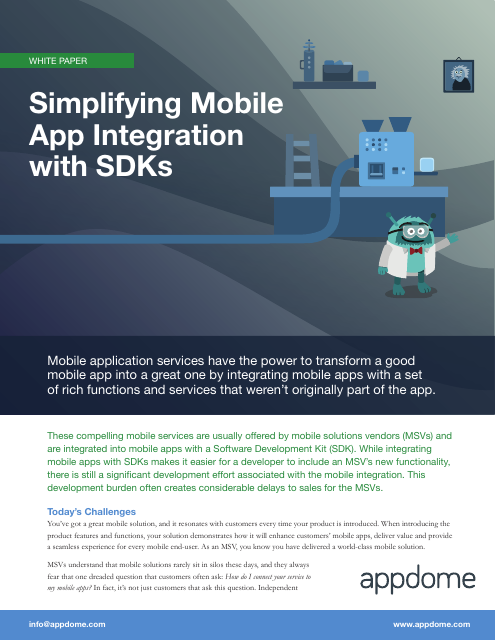 image from Simplifying Mobile App Integration With SDKs