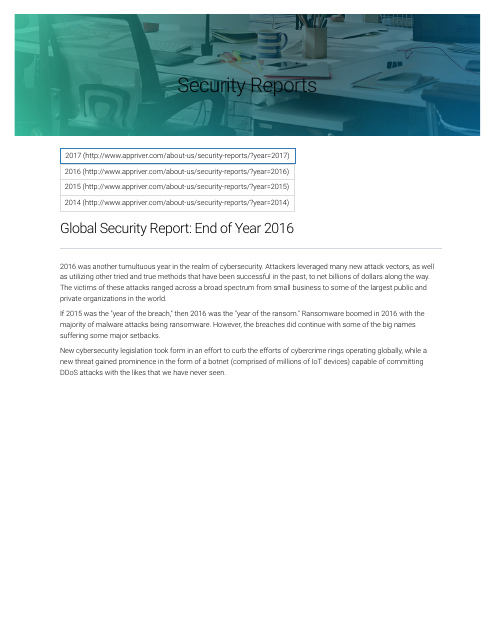 image from 2016 Global Security Report