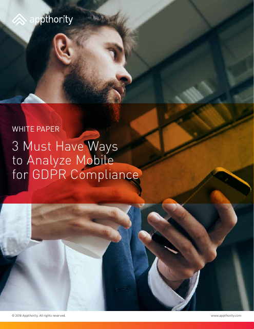 image from 3 Must Have Ways To Analyze Mobile For GDPR Compliance