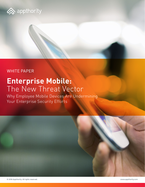 image from Enterprise Mobile: The New Threat Vector
