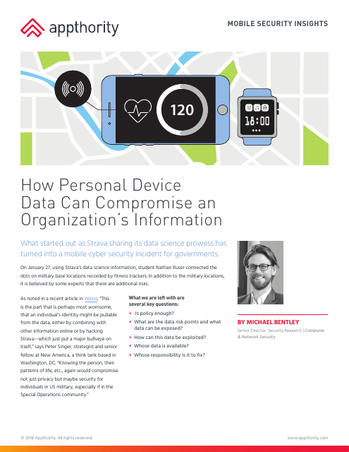 image from How Personal Device Data Can Compromise Company Data