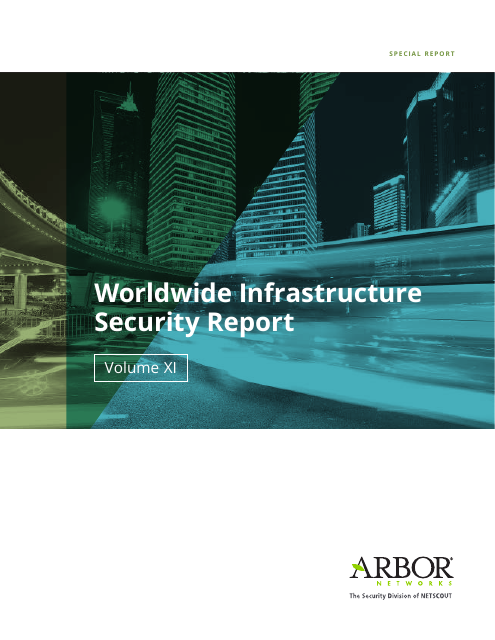image from Annual Worldwide Infrastructure Security Report, Vol 11