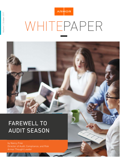 image from Farewell To Audit Season
