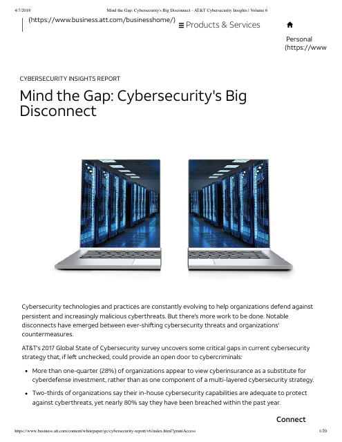 image from Cybersecurity Insights Volume 6: Mind The Gap Cybersecurity's Big Disconnect