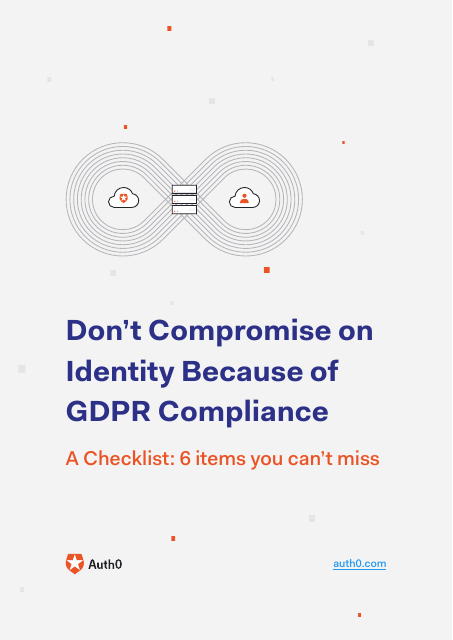 image from Don't Compromise On Identity Because Of GDPR Compliance