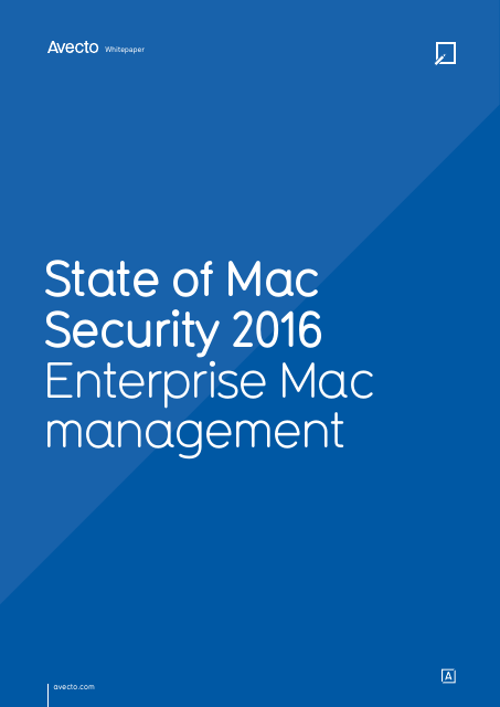 image from State of Mac Security 2016:Enterprise Mac Security