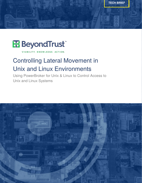 image from Controlling Lateral Movement In Unix And Linux Environments