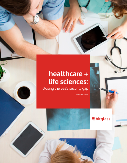 image from Healthcare And Life Sciences: Closing The SaaS Security Gap