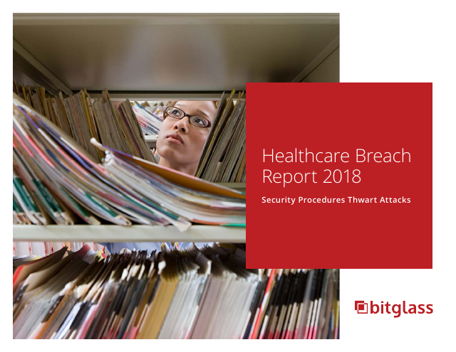 image from Healthcare Breach Report 2018