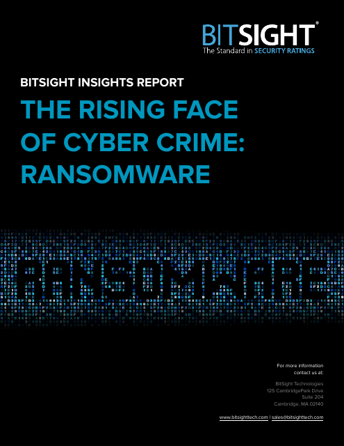 image from The Rising Face of Cybercrime: Ransomware
