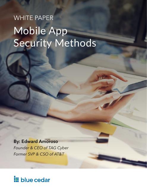 image from Mobile App Security Methods