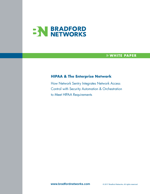 image from HIPAA & The Enterprise Network