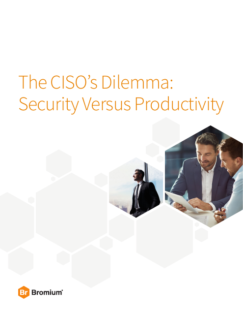 image from The CISO's Dilemma: Security Versus Productivity