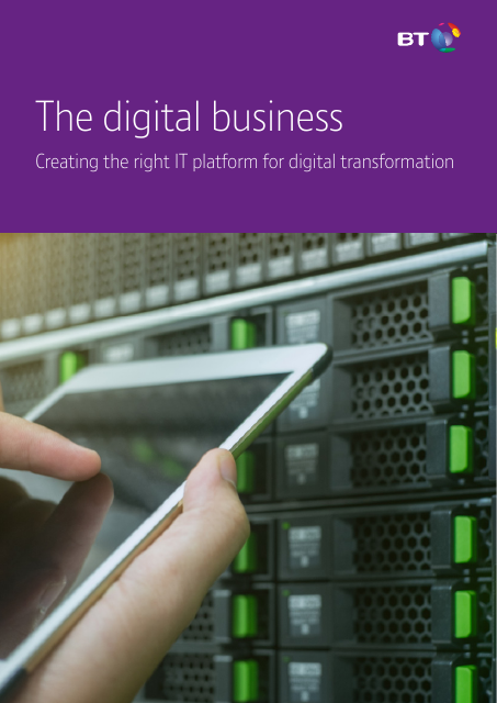 image from The Digital Business: Creating The Right IT Platform For Digital Transformation