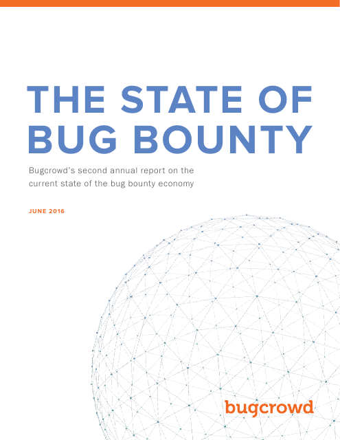 image from The State of Bug Bounty 2016