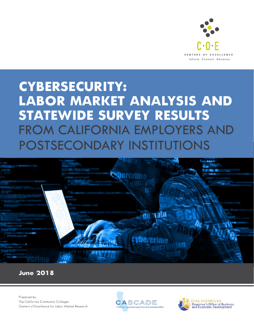 image from Cybersecurity: Labor Market Analysis And Statewide Survey Results