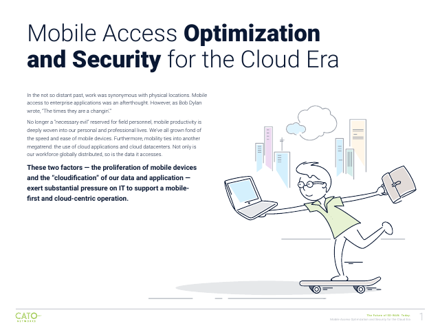 image from Mobile Access Optimization And Security For The Cloud Era