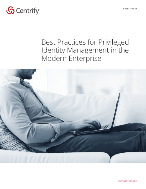 image from Best Practices For Privileged Identity Management In The Modern Enterprise