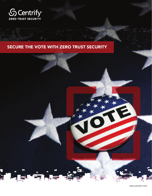 image from Secure The Vote With Zero Trust Security