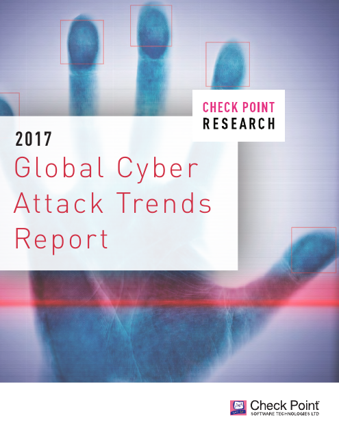 image from H2 2017 Global Cyber Attack Trends Report