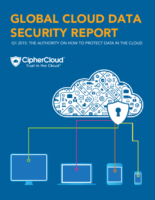 image from Global Cloud Data Security Report Q1 2015