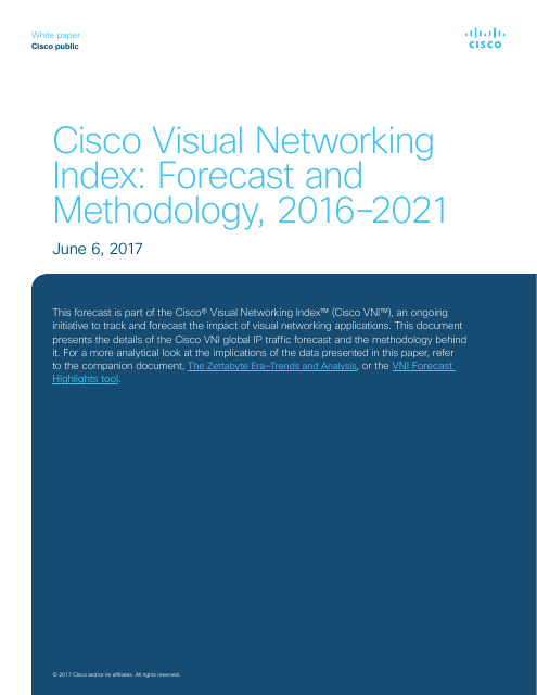 image from Visual Networking Index: Forecast and Methodology, 2016-2021
