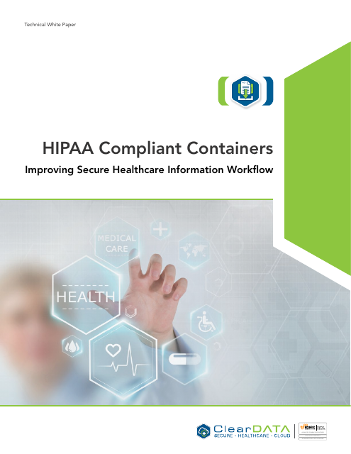 image from HIPAA Compliant Containers