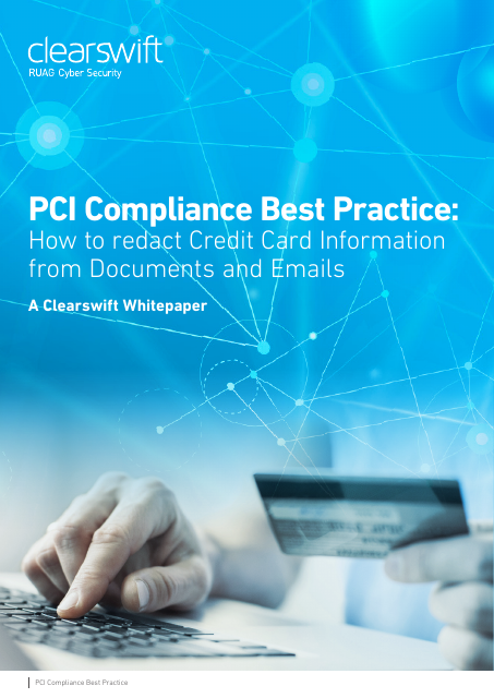 image from PCI Compliance Best Practice: How To Redact Credit Card Information From Documents And Emails