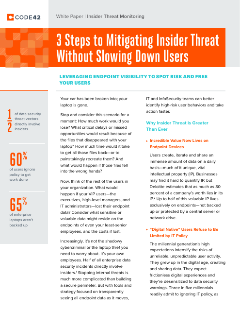 image from 3 Steps To Mitigating Insider Threat Without Slowing Down Users