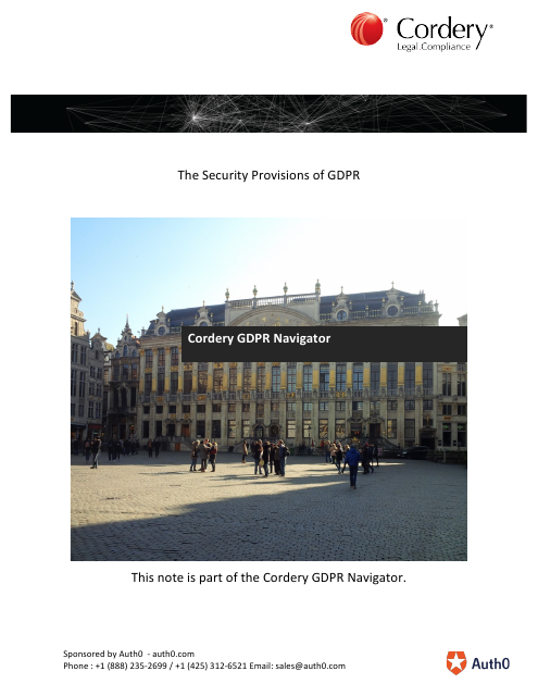 image from The Security Provisions OF GDPR