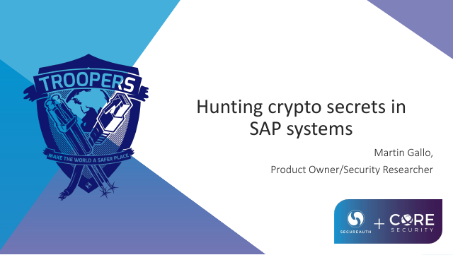 image from Hunting Crypto Secrets In Sap Systems