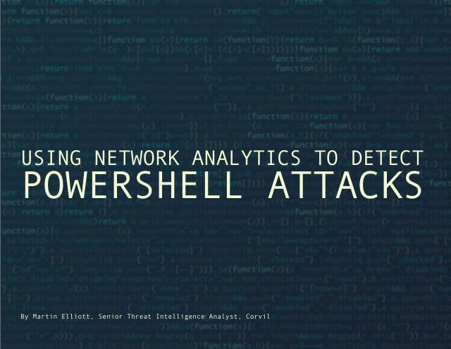 image from Using Network Analytics To Detect PowerShell Attacks