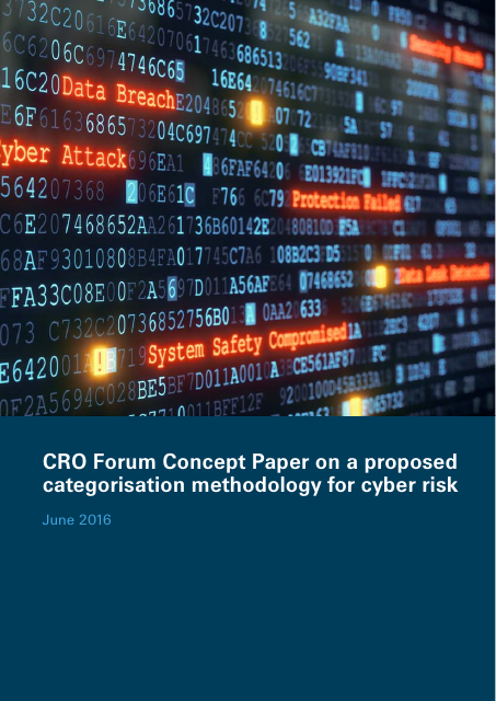 image from Concept Paper on a proposed categorisation methodology for cyber risk