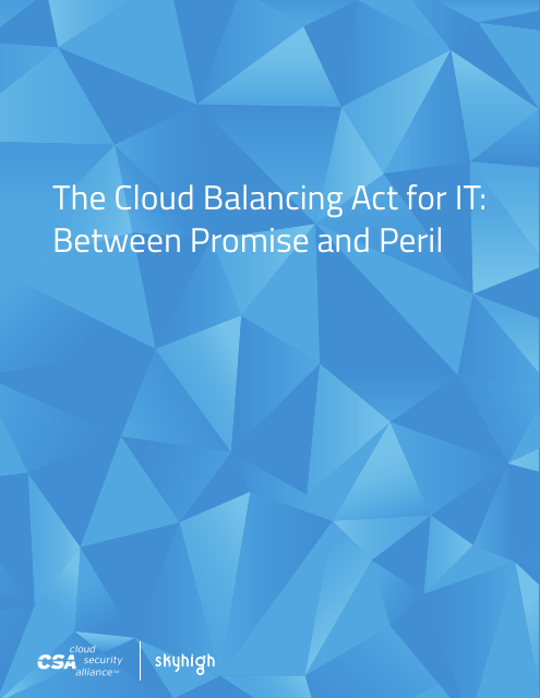 image from The Cloud Balancing Act for IT: Between Promise and Peril