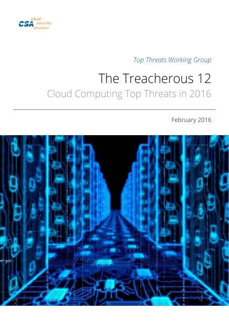 image from Treacherous 12: Cloud Computing Top Threats In 2016