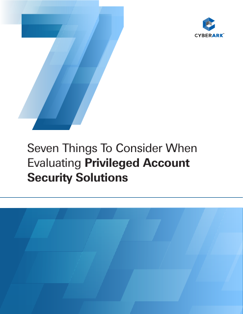 image from Seven Things To Consider When Evaluating Privileged Account Security Solutions