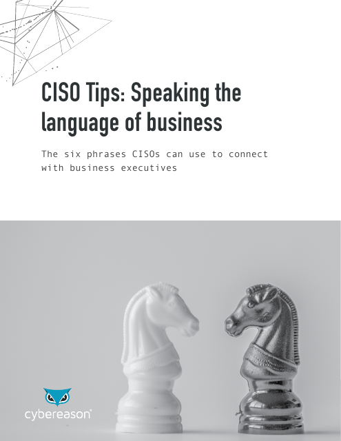 image from CISO Tips: Speaking the language of business
