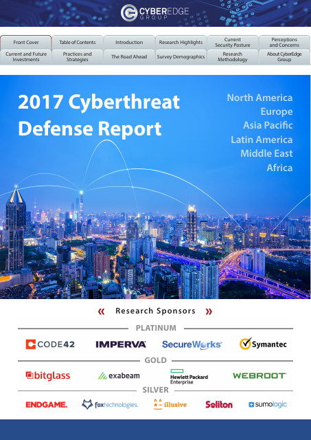image from 2017 Cyberthreat Defense Report