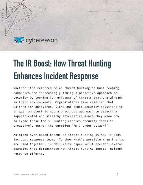 image from The IR Boost: How Threat Hunting Enhances Incident Response