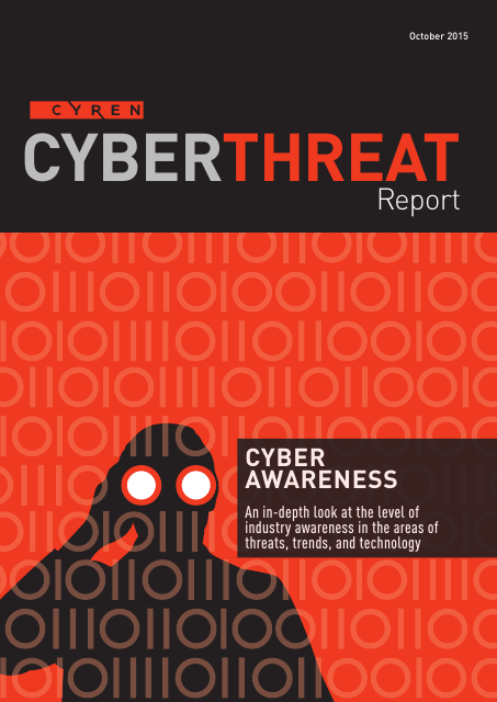 image from Cyberthreat Report