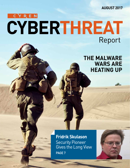 image from CyberThreat Report: The Malware Wars Are Heating Up