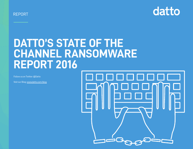 image from State Of The Channel Ransomware Report